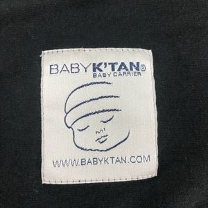 Baby K'tan Other - Baby K'tan black baby wrap carrier